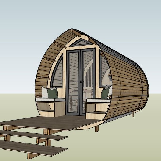 cabane- One's trip construction en bois insolite et transportable
