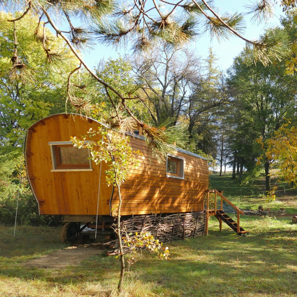 roulotte - On's trip construction en bois transportable