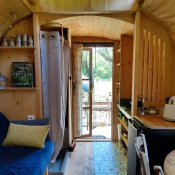 roulotte aménagée - One's trip construction mobile en bois